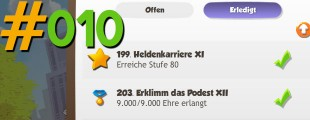 Heldentaten und Achievements in Hero Zero