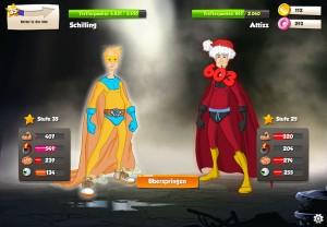 PvP Kämpfe in Hero Zero